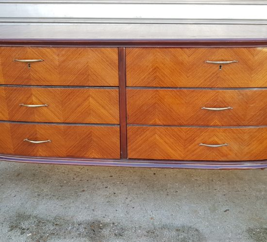 Italian vintage chest of drawers 1950