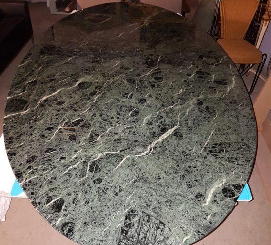 table florence knoll marbre alpi verdi