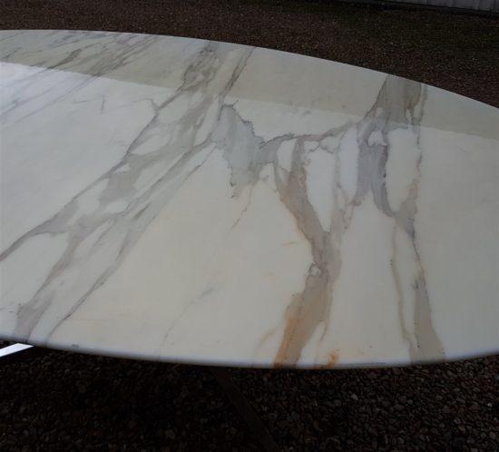table marbre calacatta florence knoll